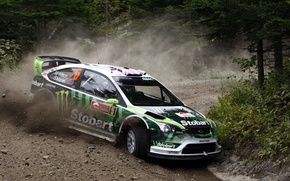 Picture Wallpaper, Rally, ford focus, Stobart
