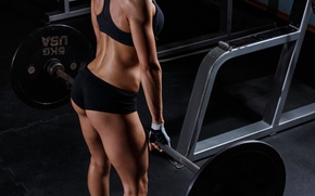 Wallpaper muscles, fitness, sportswear, physical condition