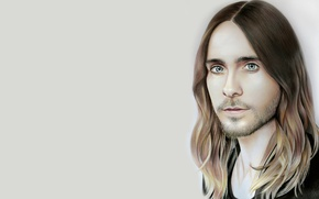 Picture figure, portrait, Jared Leto