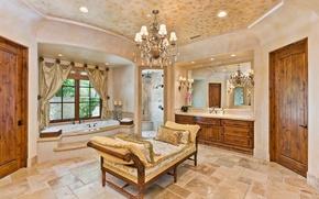 Picture interior, home, luxury, bathroom, santa fe