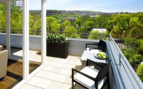 Picture design, style, interior, balcony, terrace