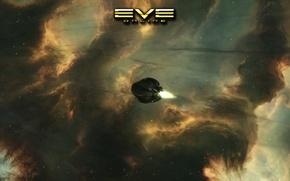 Picture Space, EVE Online, Pod, Warp