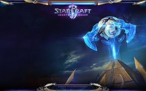 Picture StarCraft 2, Heart of the Swarm, Protoss, The mothership core