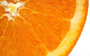 Wallpaper slice, juice, orange