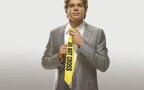 Picture yellow, tie, maniac, Dexter