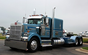 Picture truck, truck, tractor, rig, marmon