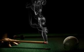 Picture ball, corruption, Billiards
