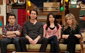 Picture the series, Freddie, Sam, Spencer, Miranda Cosgrove, Carly, Jennette McCurdy, Jerry Trainor, iCarly, ICarly, Nathan …