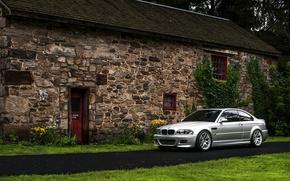 Picture BMW, BMW, silver, E46
