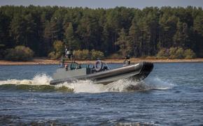 Picture boat, combat boat, speed boat, BK-9