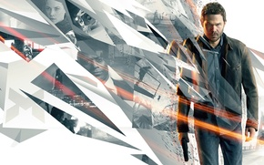 Picture Look, Weapons, Actor, Microsoft Game Studios, Quantum Break, Shawn Ashmore, Remedy Entertainment