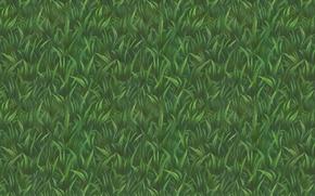 Picture grass, background, texture, art