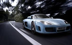 Picture road, blue, m600, noble