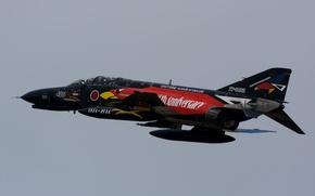 Picture flight, fighter, multipurpose, Phantom II, Phantom II, Mitsubishi F-4EJ