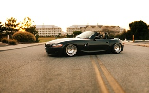Picture tuning, BMW, the evening, Roadster, bmw z4