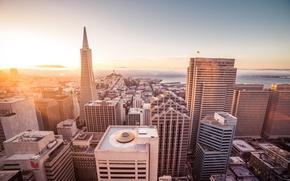 Picture the city, San Francisco, skyscrapers, San Francisco