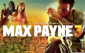 Picture booze, AK-47, desert eagle, max, rockstar games, Max Payne 3, payne