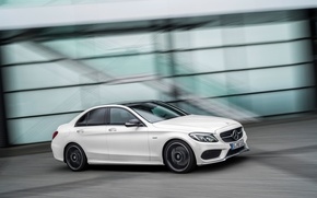 Picture Mercedes Benz, AMG, 4MATIC, 2015, C450