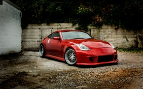 Picture fire, red, Nissan, Dragon, 350Z, Monsterwraps