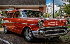 Picture classic, universal, 1957 Chevrolet Nomad, Chevrolet Nomad