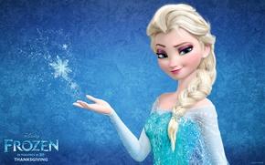 Picture Frozen, Walt Disney, 2013, Cold Heart, Animation Studios, Snow Queen Elsa