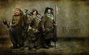 Picture the film, dwarves, the hobbit, the hobbit