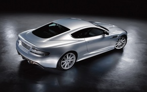 Wallpaper Aston Martin, silver
