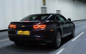Picture car, machine, speed, Chevrolet, Camaro, speed, back, 45th Anniversary