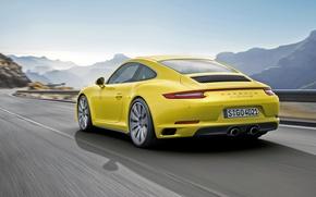 Picture coupe, 911, Porsche, Porsche, Coupe, 2015, Carrera 4S