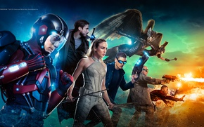 Picture attack, the series, actors, costumes, Movies, Legends of tomorrow, DC's Legends of Tomorrow