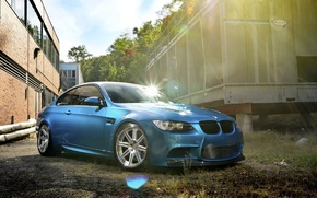 Picture car, glare, tuning, BMW, tuning, bmw m3, rechange
