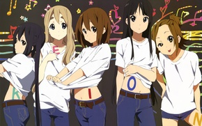 Picture kawaii, girls, k-on, anime