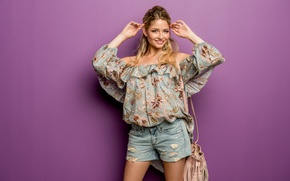 Picture look, girl, face, style, hair, cutie, Isabel