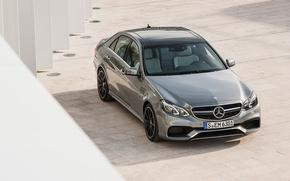 Wallpaper gray, Mercedes-Benz, AMG, E 63