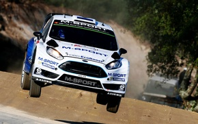 Picture Ford, Jump, Ford, WRC, Rally, Rally, Fiesta, There Miss