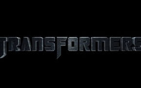 Wallpaper letters, the word, Transformers