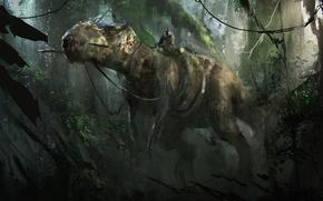 Picture T-Rex, dino, dinosaur, Tyrannosaurus