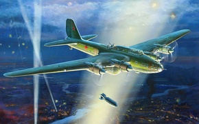 Picture figure, Soviet, THE SOVIET AIR FORCE, Zhirnov, heavy bomber, TB-7