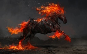 Picture horse, war, art, Thedurrrrian