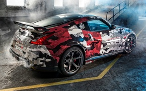 Picture tuning, Nissan, Nissan, rear view, tuning, Rally, 370Z, NISMO, NISMO, Gumball 3000