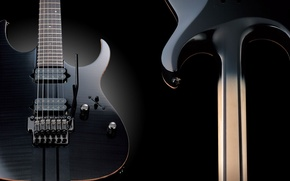 Picture background, black, view, ass, before, electric guitar