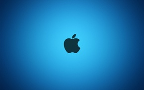 Picture Apple, Apple, Blue