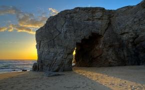 Picture sea, landscape, rocks, France, Brittany, St.-Pierre-Quiberon