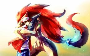 Picture anime, art, guy, pokemon, Pokemon