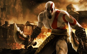 Picture the game, game, Kratos, kratos, God of war, ps3, God of War Ascension