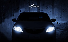 Picture Lights, Lancia, The front, Lancia, Ypsilon