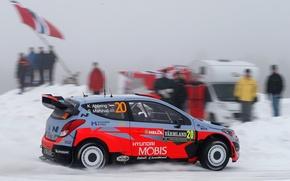 Picture Hyundai, Sweden, WRC, Rally, i20, Abbring