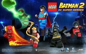 Picture batman, lego, flash, robin