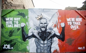 Wallpaper Conor McGregor, Conor McGregor, UFC, Grafiti