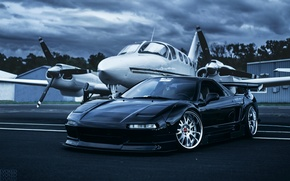 Picture front, Evoked Photography, Honda, the plane, Acura, NSX